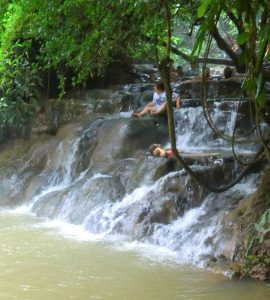 Krabi jungle Hot Spring