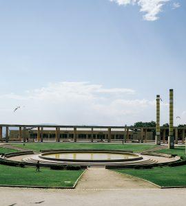 Olympic Park in Montjuic