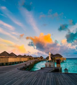 View of Water Villas