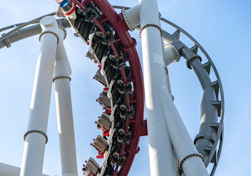 Ride at Universal Studios Singapore