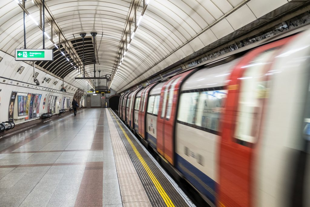 Metro Service in london locally known as tube