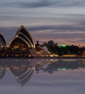 Opera house at Dawn