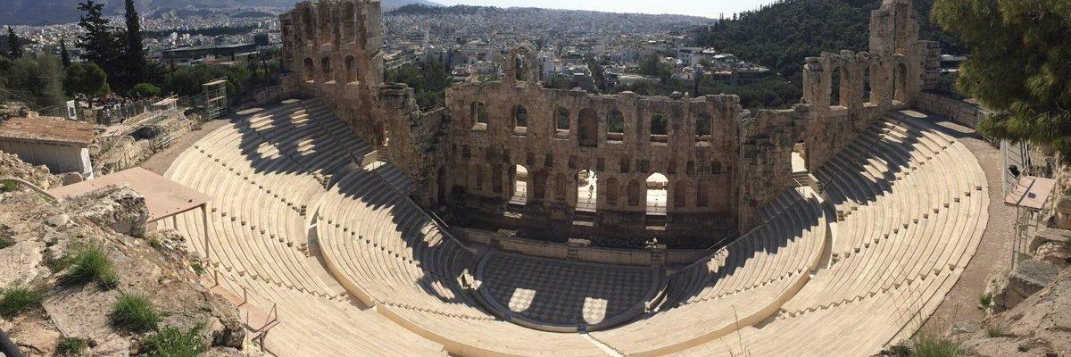 dionysus theatre, athens theatre, Amphitheatre