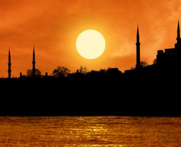 Sunset at Topkapi palace