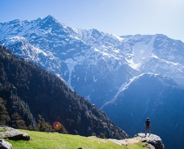 View from Dharamkot village best things to do near Dharamshala