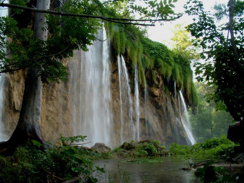 Cherrapunji waterfalls.