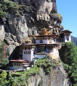 Tiger' nest in Bhutan
