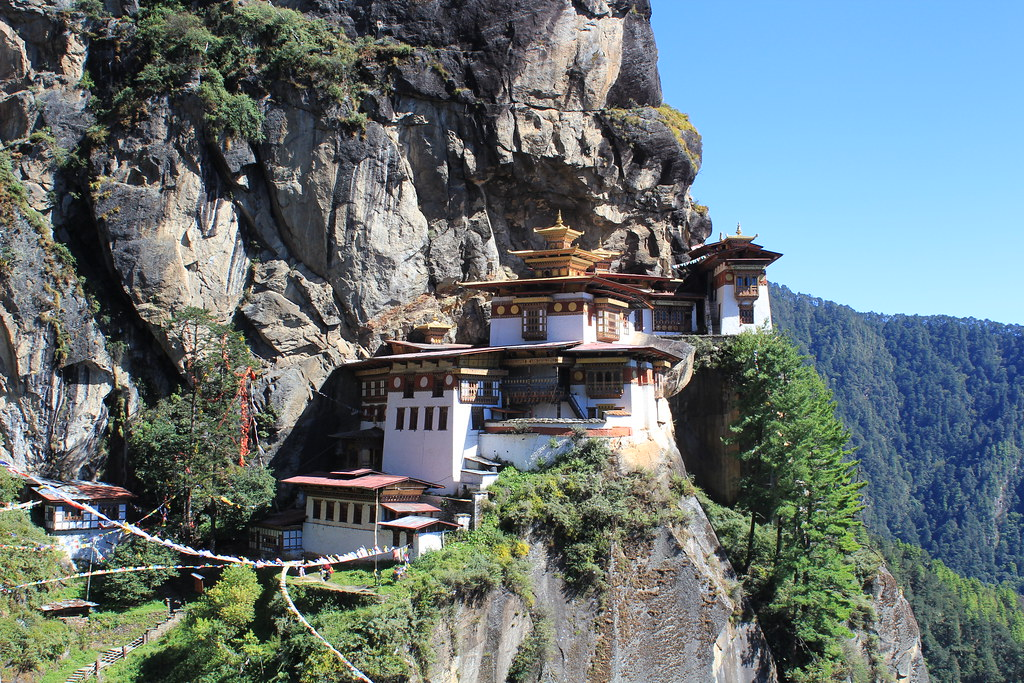 Tiger's Nest in Paro