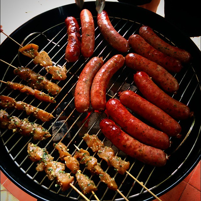 Barbecued Snags