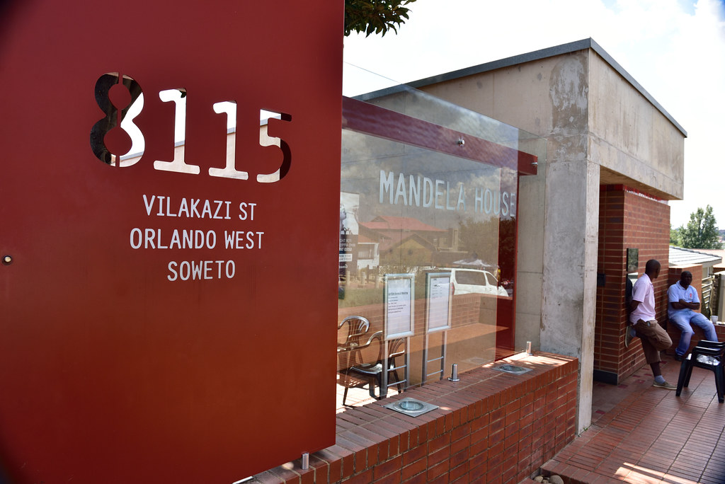 One of the views of The Mandela House, Soweto