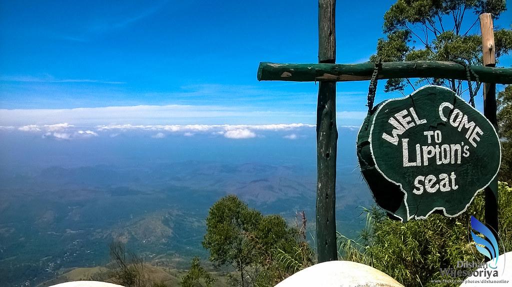Lipton's seat (Srilanka Tour on Budget)