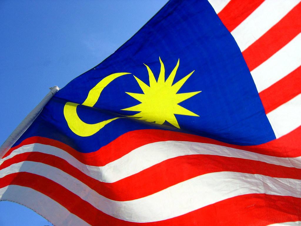 The Malaysia flag