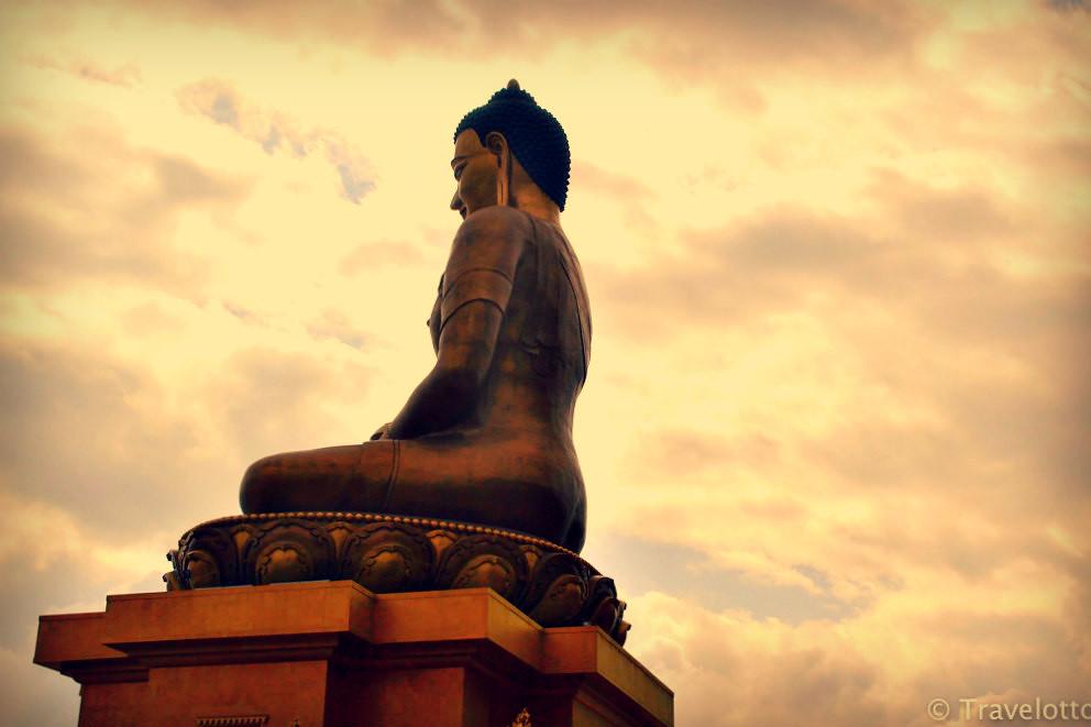 Sitting Buddha Statue at Thimpu (Guide to Thimpu)