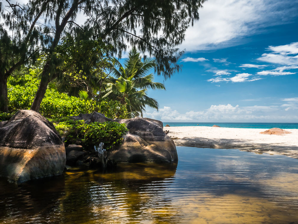 Anze Lazio, Praslin, Seychelles