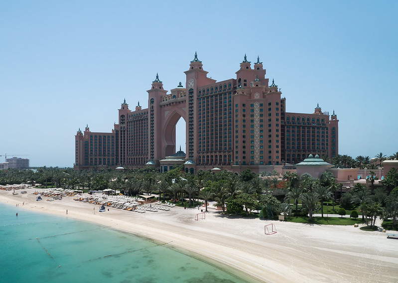 Beach at Atlantis the Palm