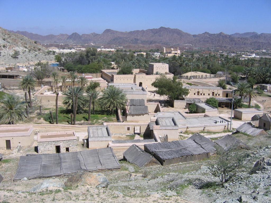 A view of Hatta Heritage Village