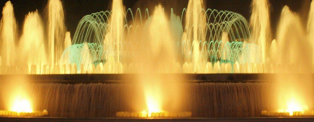 Magic Fountain Show in Barcelona