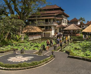 A temple in Ubud