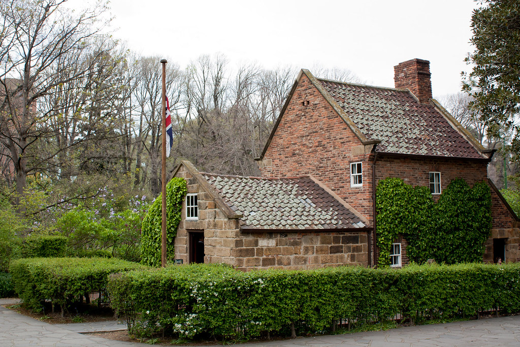 captain cooks cottage at the fitzroy gardens