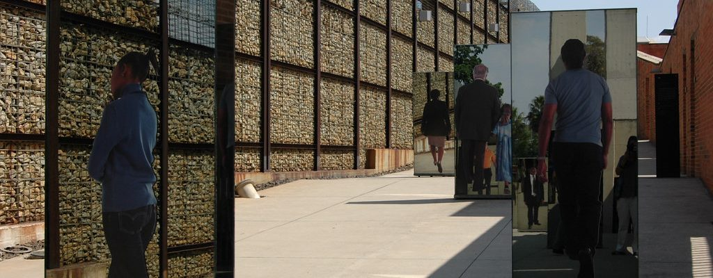 A picture of The Apartheid Museum in Johannesburg, South Africa