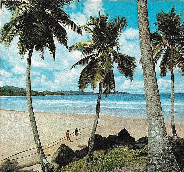 Grand Anse Beach Mahe