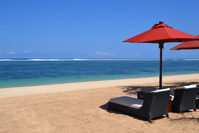 A beach resort in Bali