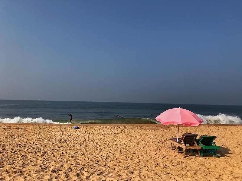 Calangute Beach near Panaji