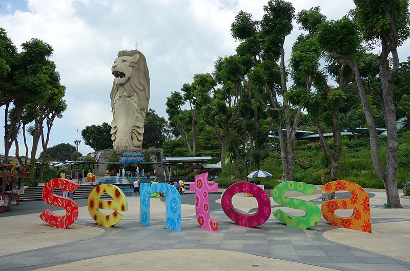 Merlion in Sentosa