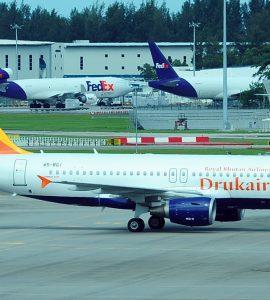 Durkair - The airline of Bhutan