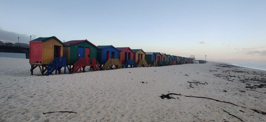 An amazing picture of colourful boats in Knysna