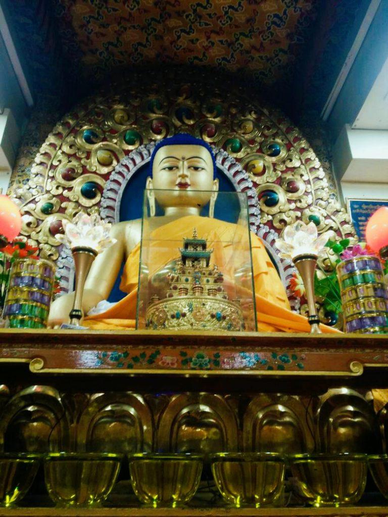 Buddha in the Dalai Lama temple