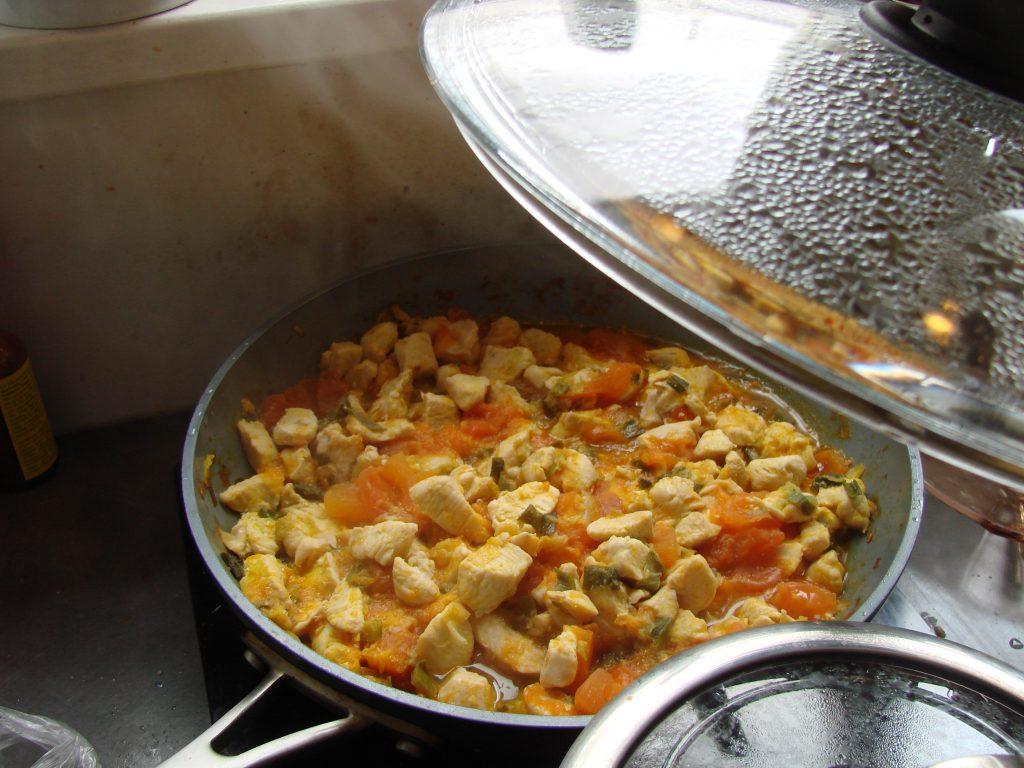 Jasha Maroo being cooked