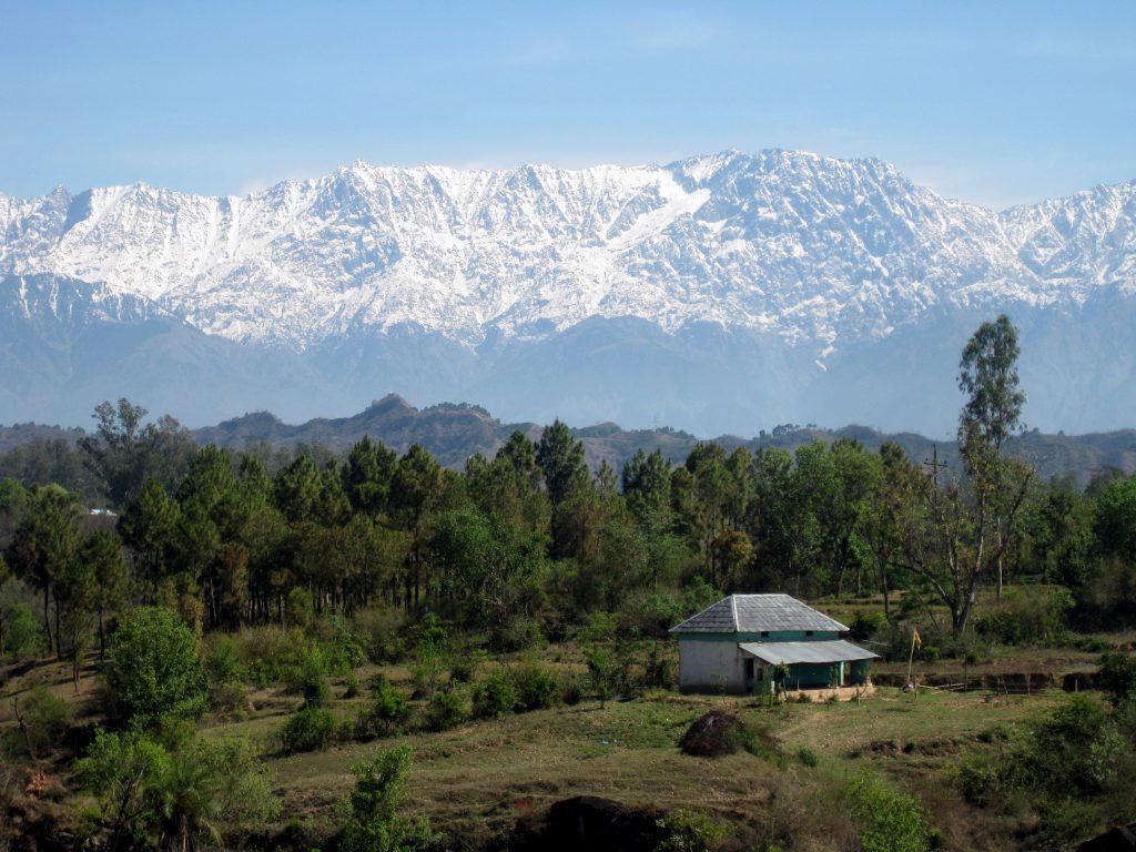 View of Dhauladhar Range best places to visit near Dharamshala