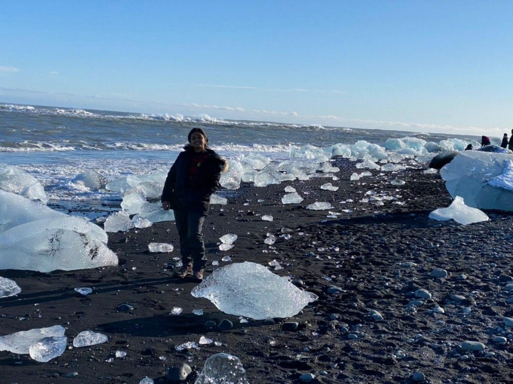 The amazing Diamond beach, Iceland