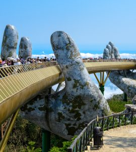 The Golden Bridge Da Nang, Vietnam