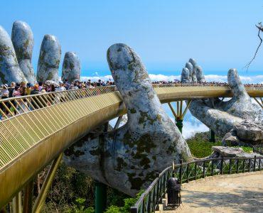 The Golden Bridge Da Nang, Vietnam