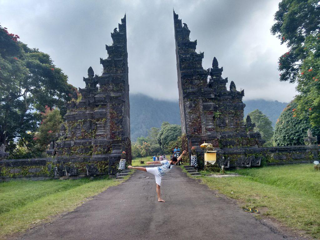 Ajinkya at Bali