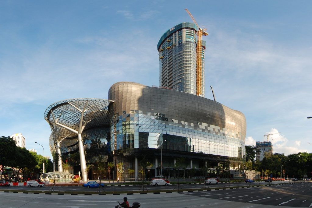 ION Orchard, Singapore, Places to visit in east coast