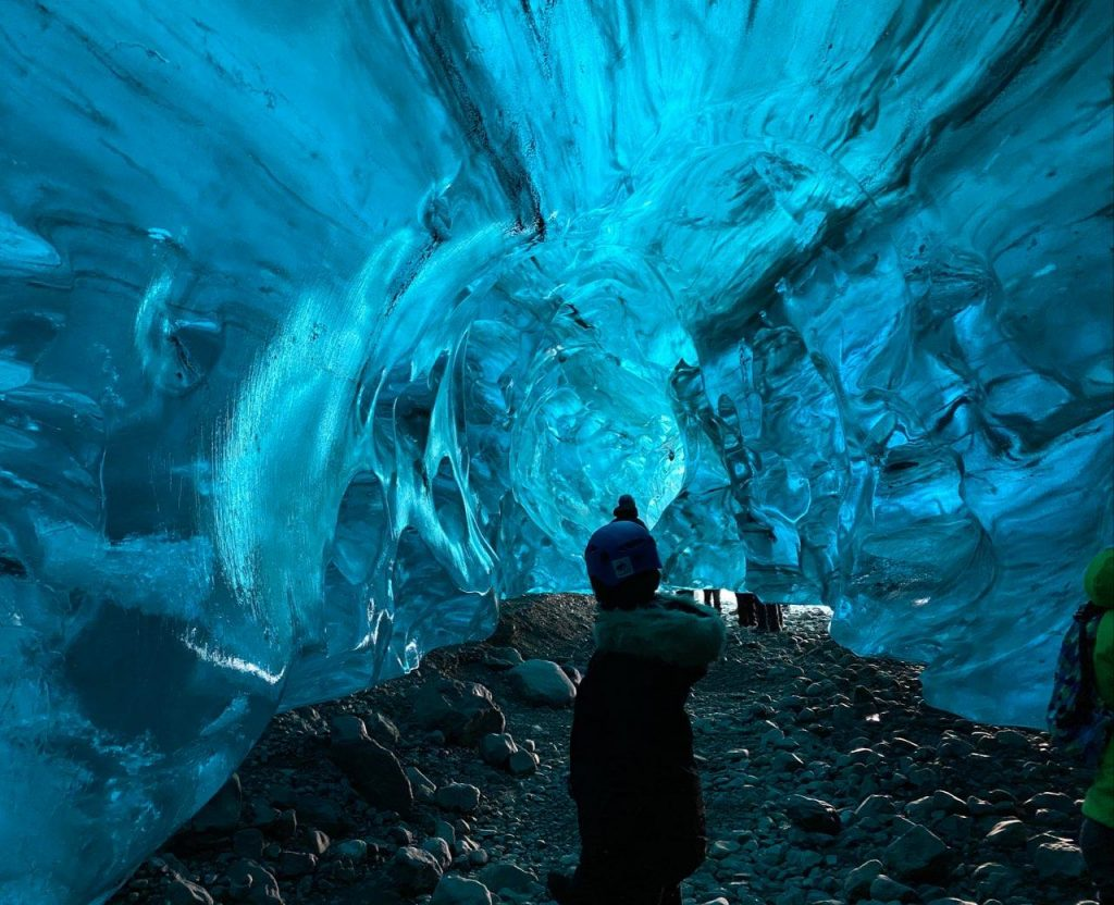 Ice cave tour at Hofn, One of the best places to visit in Island with my loved one