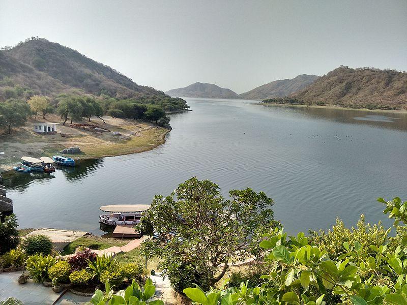 Jaisamand lake in Rajasthan