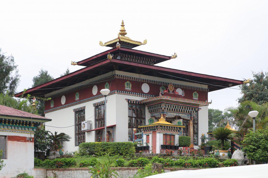 Karbandi Monastery in Phuentsholing