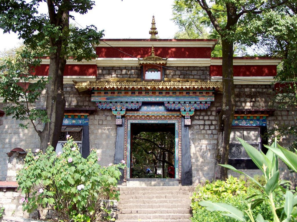 Entrance of Norbulingka Institute one of the best places to visit near Dharamshala