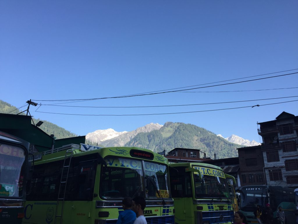 Bus rides to Spiti Valley