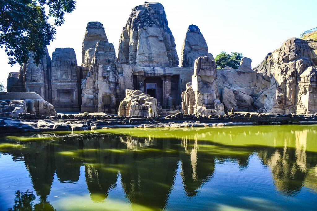 Masroor Rock Cut temple complex near Dharamshala