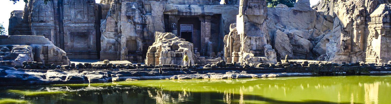 Masrur Rock cut temple
