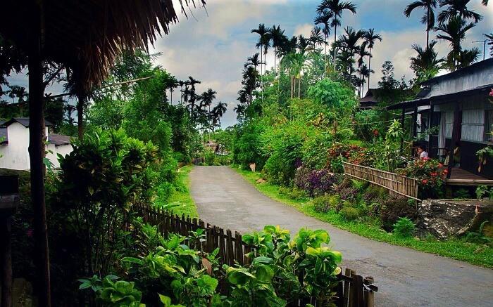 Mawlynnog Village Meghalaya