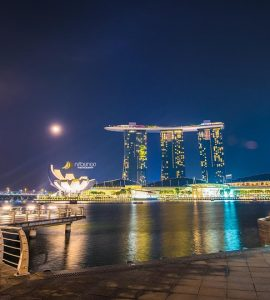 Merlion Marina in Singapore