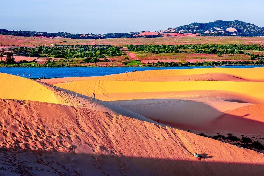 Red Sand Dunes in Mui Ne