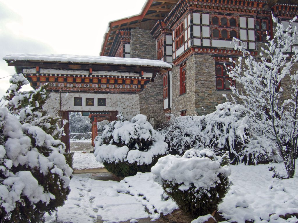 The National Library of Bhutan in Winter (Best time to Visit Bhutan)