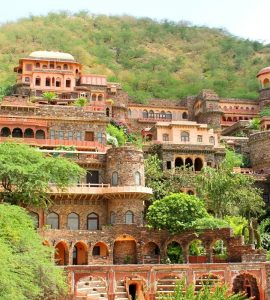 Neemrana fort palace of Alwar